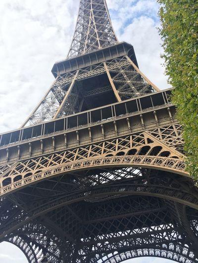 Architecture Built Structure Tower Low Angle View Sky Paris Travel Destinations Travel Monument