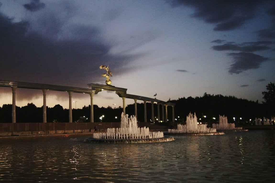 Tashkent ♥ City City Life Architecture Sky Cloud - Sky Famous Place Attractions Monument Cloudy Cloud Sunset Architecture ASIA