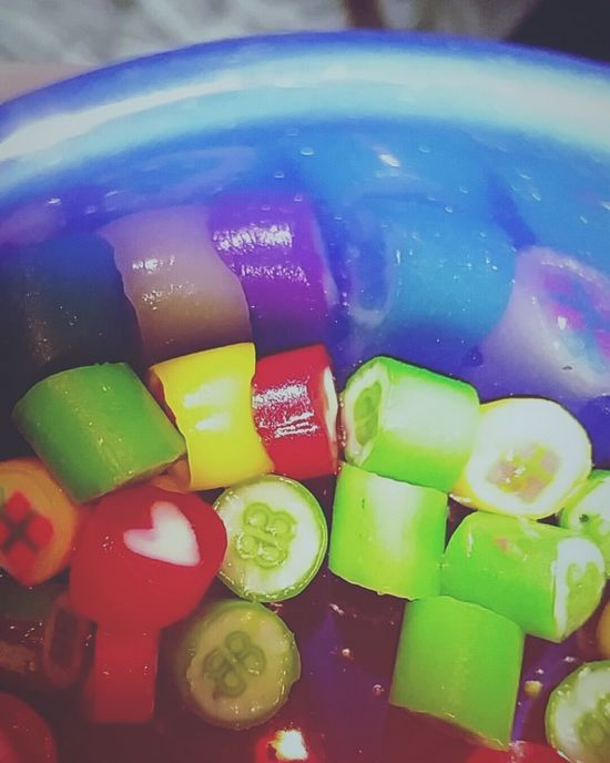 Reagge Colorful Lookinside Candy Inmymouf