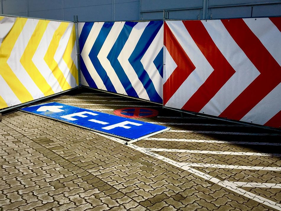 Direction. Communication No People Road Sign Differing Abilities Colorful City Hamburg Hamburgmeineperle Day Surfaces Textures And Surfaces Pattern Pattern, Texture, Shape And Form The Way Forward Signs Signboard Way To Go Home