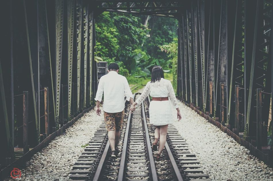 Engagement Railway Train Engagement Photography Vintage Walking Around Getting In Touch Enjoying The Sun Bohemian Engagement Photography