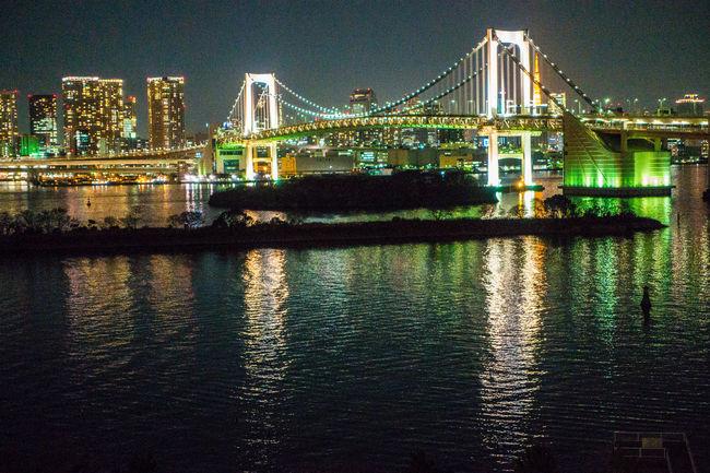 Odaiba in Tokyo Nightphotography Night Photography Night Lights Landscape Landscape_Collection Landscape_photography Eye4photography  EyeEm Best Shots Cityscapes