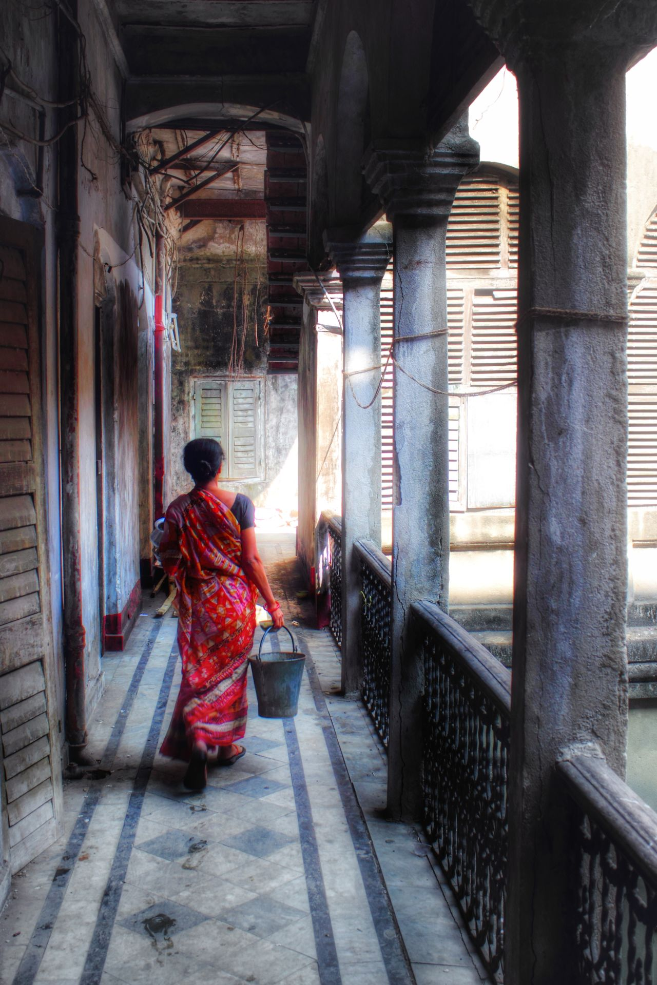 Full Length Built Structure Real People One Person Outdoors One Man Only Traditional Clothing Adult Only Men Day People Horizontal Person Architecture And Art Nature Sunlight Window Close-up Land Vehicle Cityscape Tranquility Architecture Arts Culture And Entertainment Steps And Staircases Horizontal