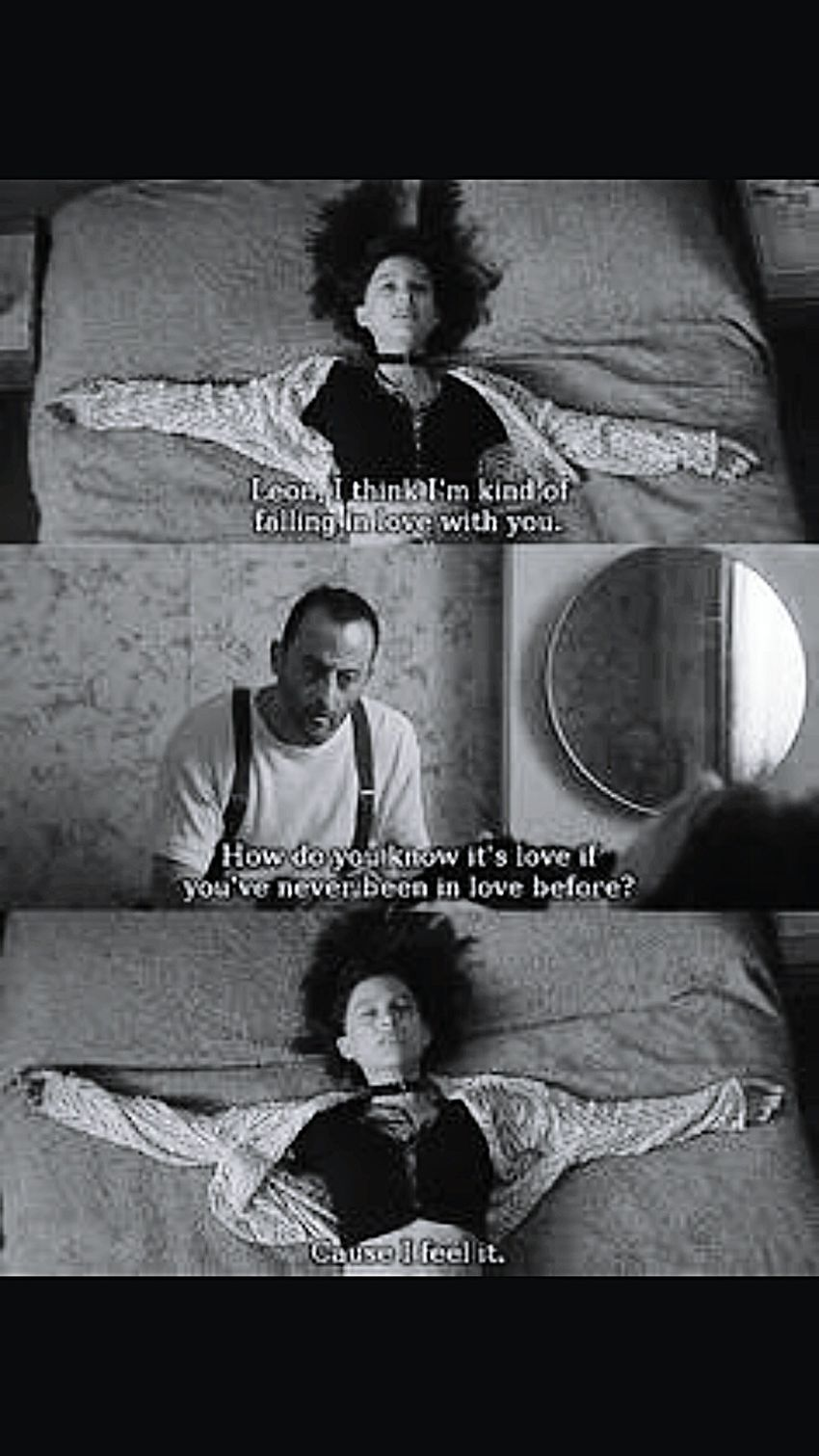 The Professional My Favourite Ofalltime Natalieportman such a cutie ♥
