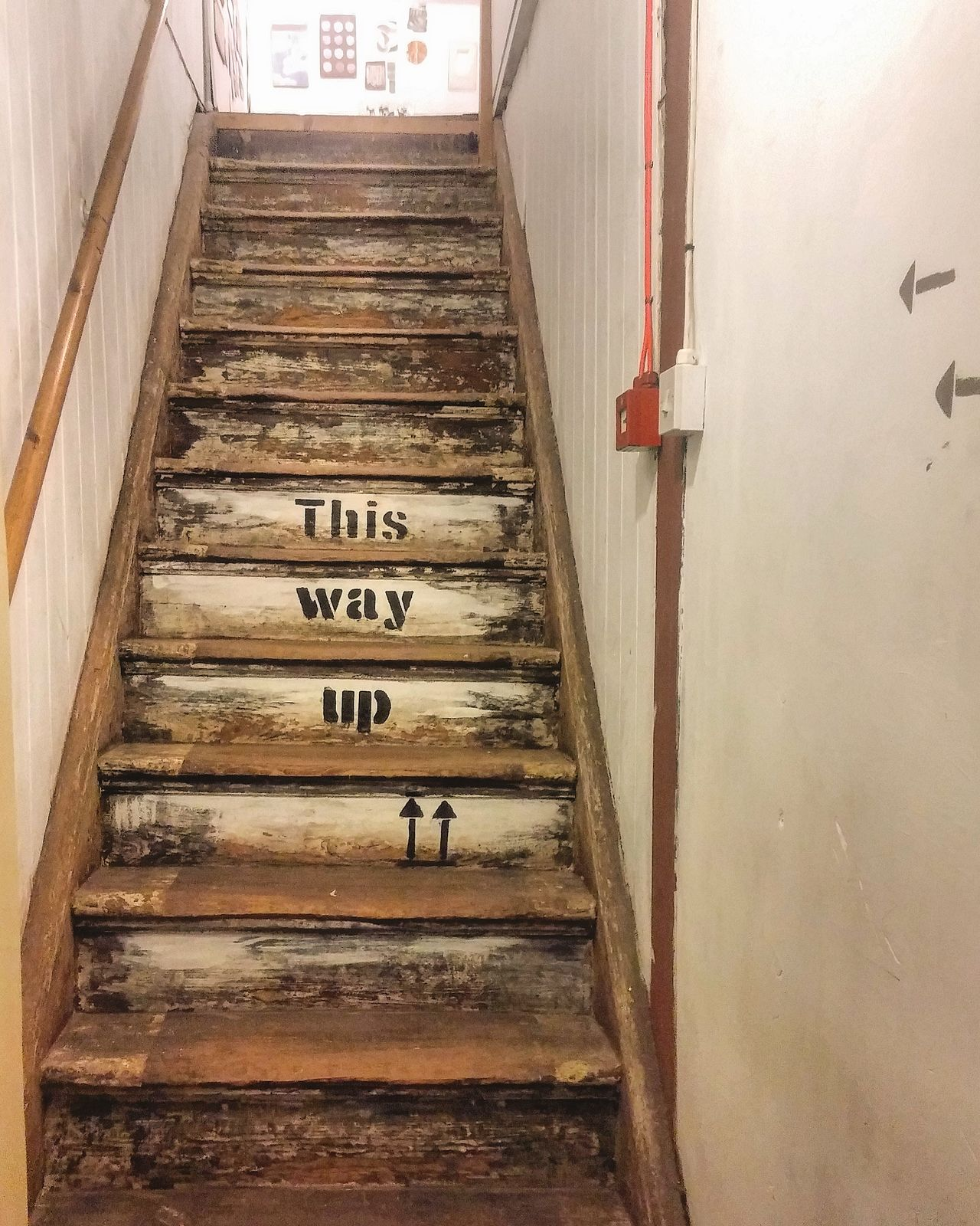 Steps Staircase The Way Forward Moving Up Manchester City Life OBEY England Lookup Northernquarter