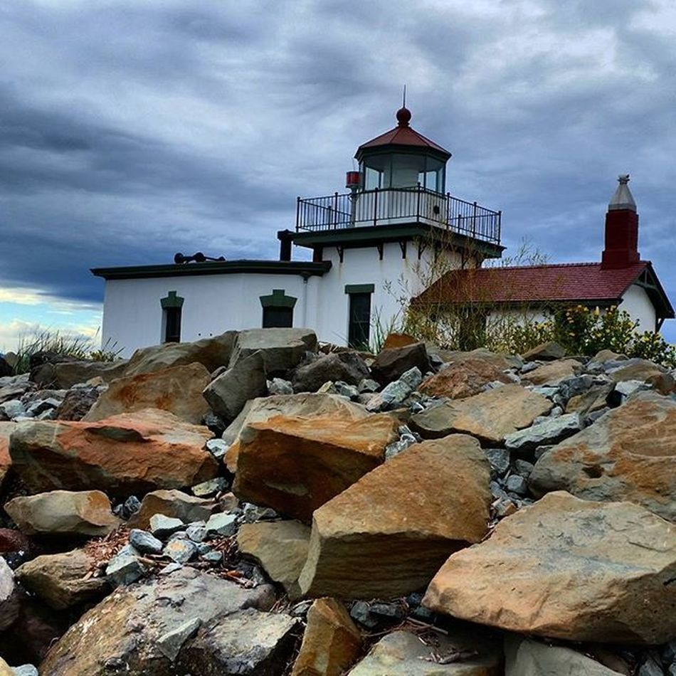Took a walk on the beach the other day Discoverypark Seattle Lighthouse