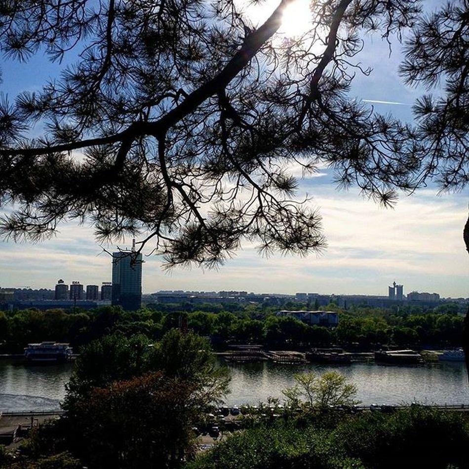 Sunset Danube Belgrade Ig_belgrade Ig_bgd
