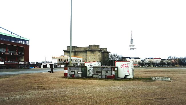 Hamburg Bunker Stadium Stpauli FCSP Graffiti Soccer Football Fussball Stadion Streetphotography Street Urban