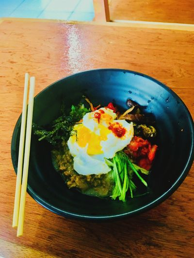 Korean food Food And Drink Table Food Egg Freshness Indoors  Food Stories Ready-to-eat Serving Size