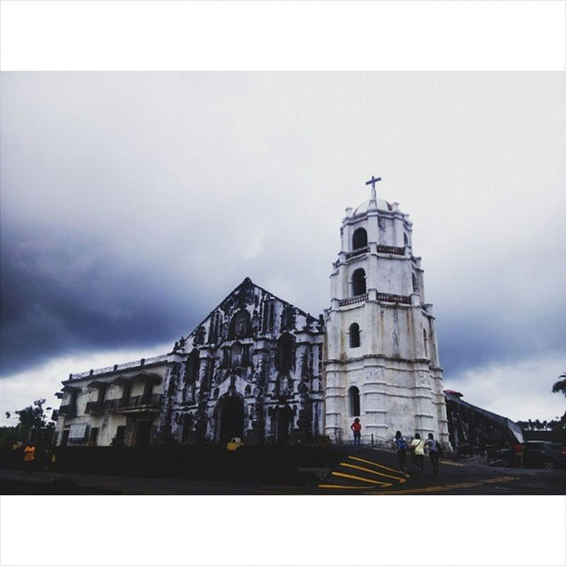 Had the chance to Visit albay's church and the chance to attend the mass there. HistoricalChurch Albay