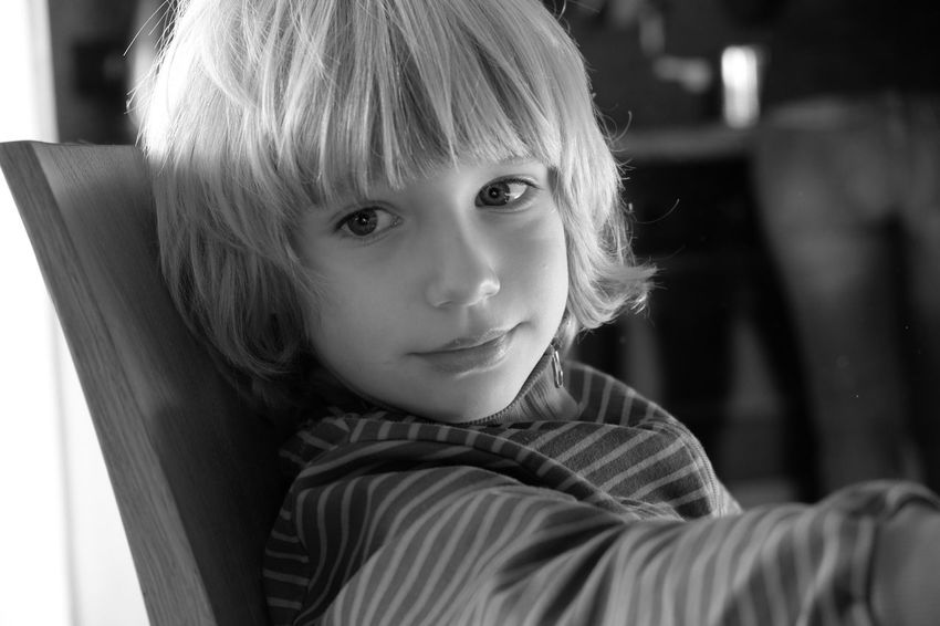 Raul - Portrait Children Blackandwhite Fujifilm X-E2 Eyes Black And White