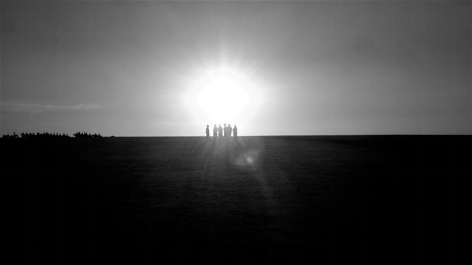 GROUP A Group Of People Beauty In Nature Beauty In Nature Blablack Black And White Blackandwhite Photography Day Horizon Over Water Nature No People Outdoors Scenics Sea Silhouette Sky Sun Sunlight Tranquil Scene Tranquility Water