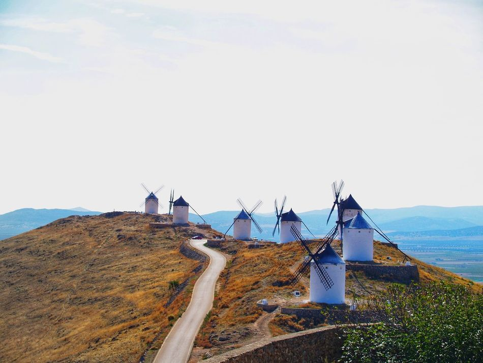 Landscape_Collection Rural Travel Traveling Wind Energy Wind Turbine Wind Power Windmill Beauty In Nature Energy History Landscape Monument Mountain Nature Outdoors Quijote Quijotedelamancha Rural Scene Scenics Tourism Tranquility Travel Destinations Wind Mill Wind Power Generator