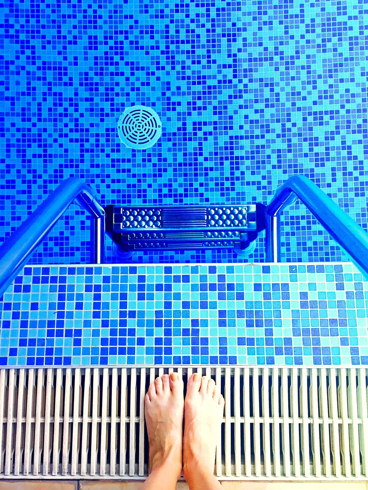 Color Palette Blue Pool Time Abstract Wet Pooltime Swimming Swimming Time Water Swimming Pool Swimmingpool Perspective Looking Down Blue Tiles Color Palette Pool Steps Pool Exercise Swim Holiday Summer Feet Bare Feet The Color Of Sport Dramatic Angles