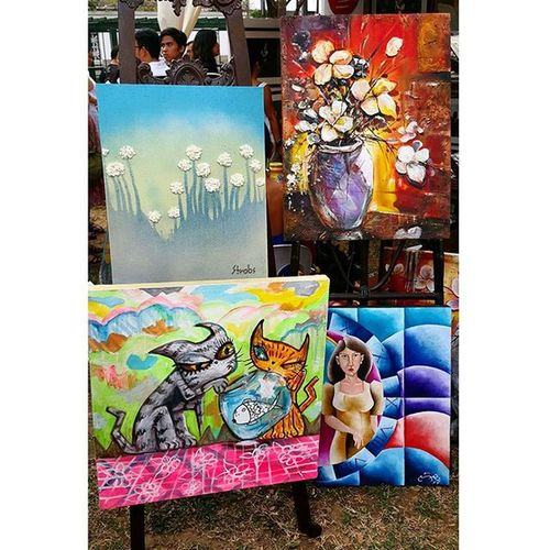 See you later!!! Artintheparkph 😊 (Last year's pieces) . . . . . . Artexhibit Pinoypride Filipinotalent @artintheparkph Philippines Filipinoartists Artist