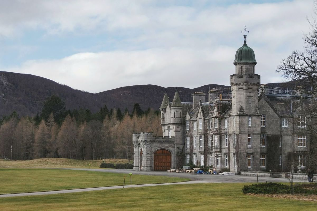 Balmoral Castle Architecture Outdoors No People Uk Balmoral Building Exterior Built Structure Travel Deeside Aberdeenshire Royal Deeside Scotland Balmoral Castle Castle Historic Scotland Highlands