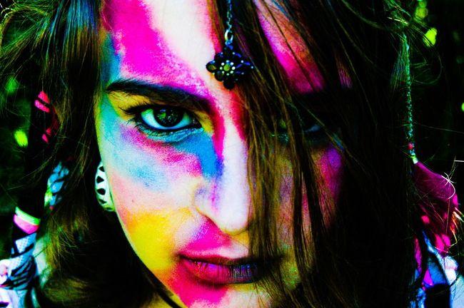 Color People War Paint Make Up