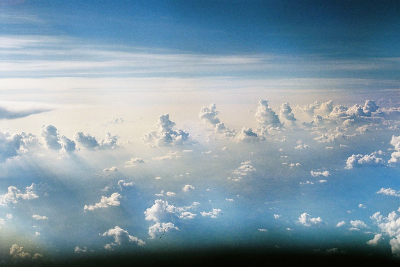 Atmospheric Mood Backgrounds Beauty In Nature Blue Cloud - Sky Cloudscape Day Ethereal Majestic Nature No People Outdoors Scenics Sky Sky Only The Natural World Tranquil Scene Tranquility
