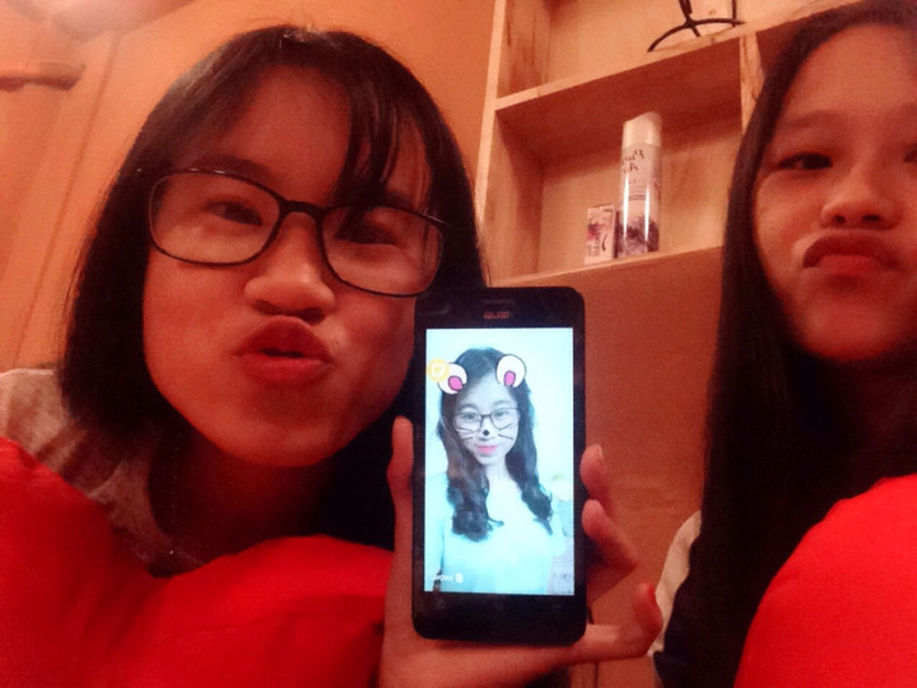 Chụp với HOT GIRL 😱😱😱😱 Be Strong Girl 加油 Beautiful Girls Selfie ✌ Sunday Morning