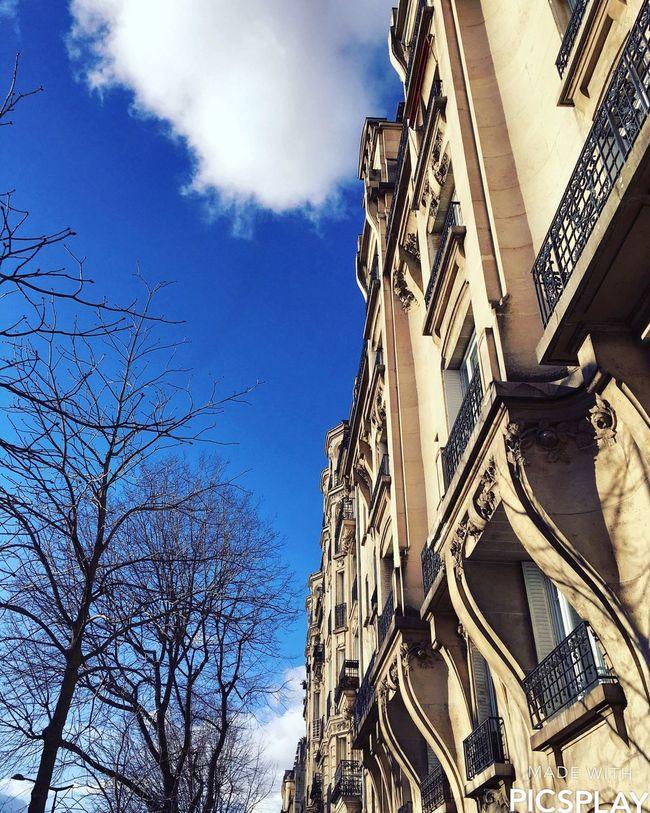Walk in Paris Sun Afternoon Paris Building Sky