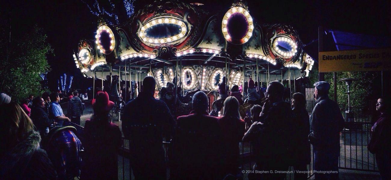 """""""Carousel."""" Zoolights  Taking Photos Night EyeEmBestPics"""