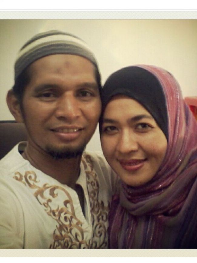 Muslim Couple in love