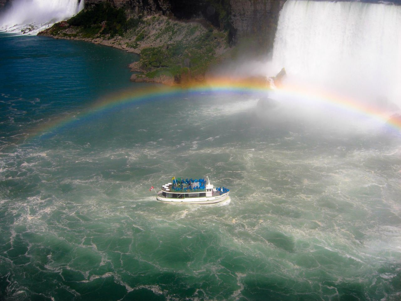 Beautiful stock photos of rainbow, Beauty In Nature, Boat, Day, Famous Place