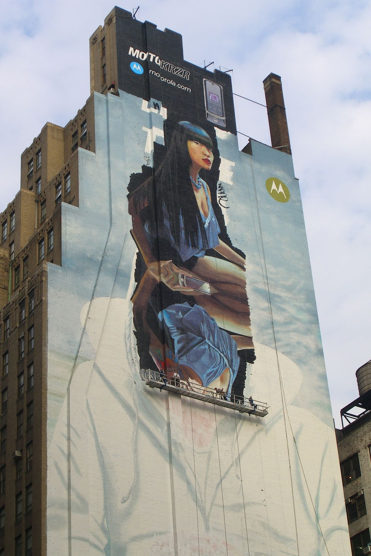 Advertisement ArtWork Building Facades Manhattan New York City Picture Still Life