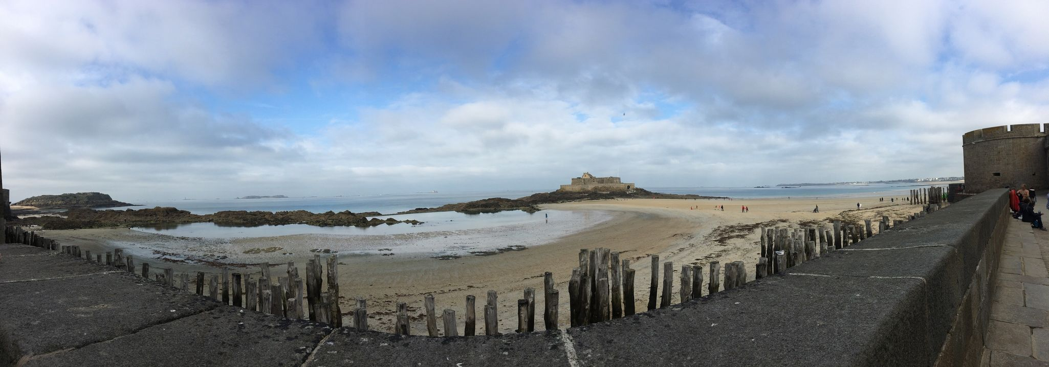 Saintmalo Visite Sea And Sky Oiseaux LaMer Birds Mar First Eyeem Photo Magnifique Panorama Panoramic Photography 360 Panorama Canon