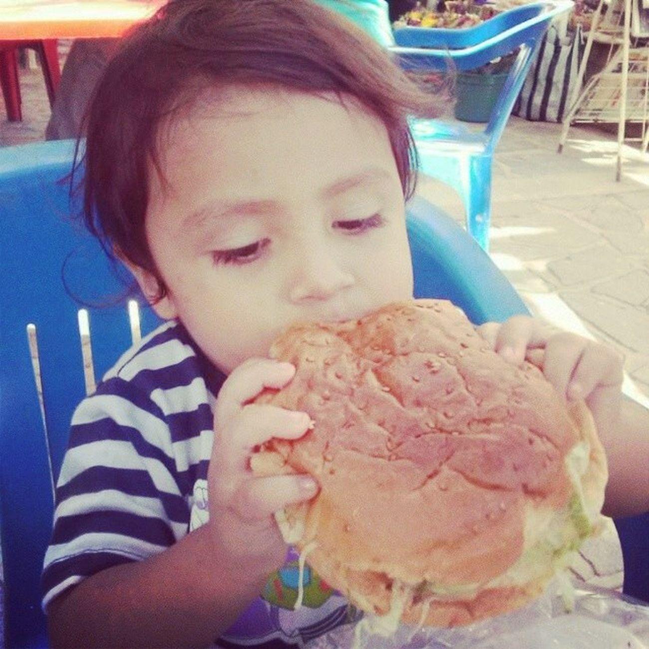 Pobrecito no le dan de comer:$ Sobrino Tragoncito