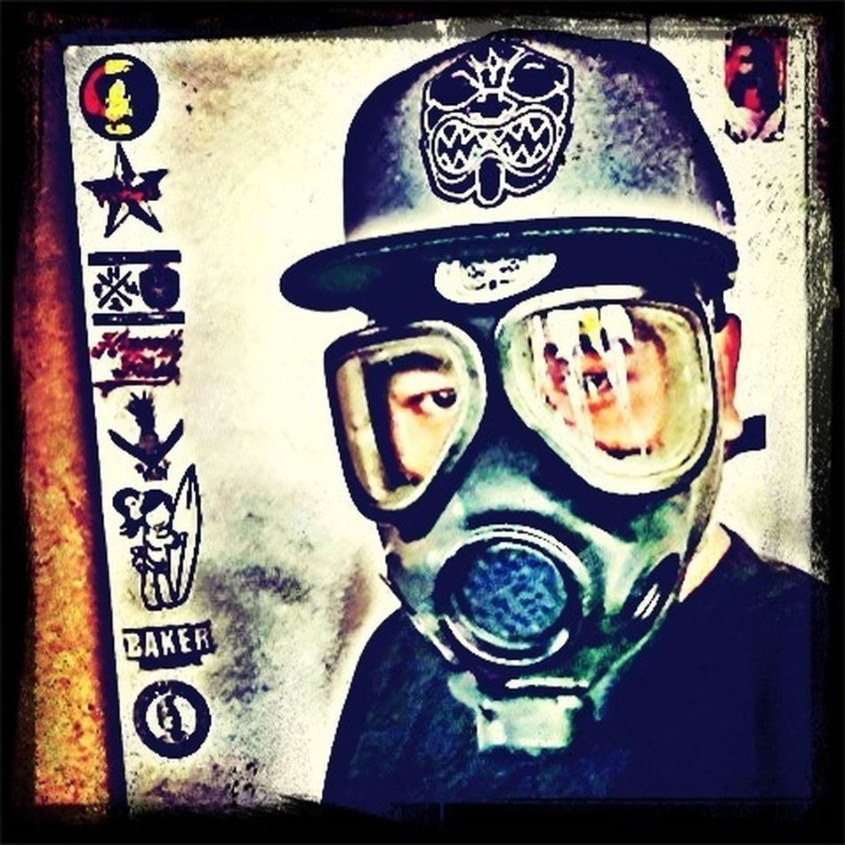 Gasmask...#fmhi #pineappleclan #farmersmarkethawaii #spreadalohanotgerms #thepineappleclan #akua