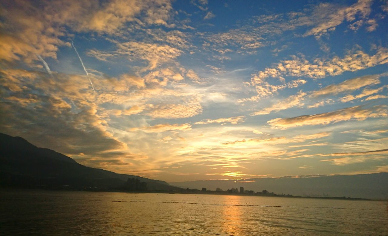 Sunset Cloud - Sky Sky Landscape Scenics No People Outdoors Beauty In Nature Tamsui Tamsui River Tamsui Taiwan