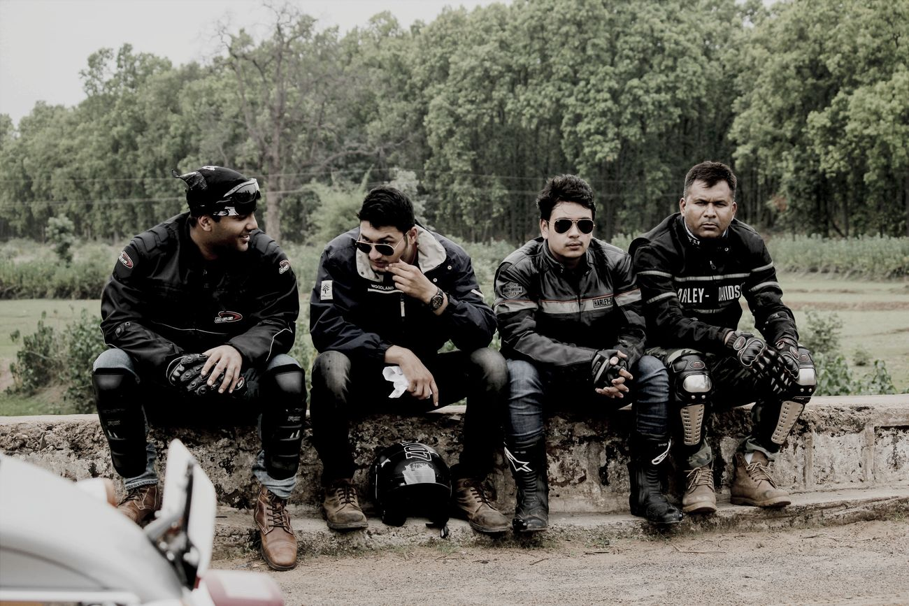 The Fantastic Four then Harleydavidson Riders Bandhavgarh