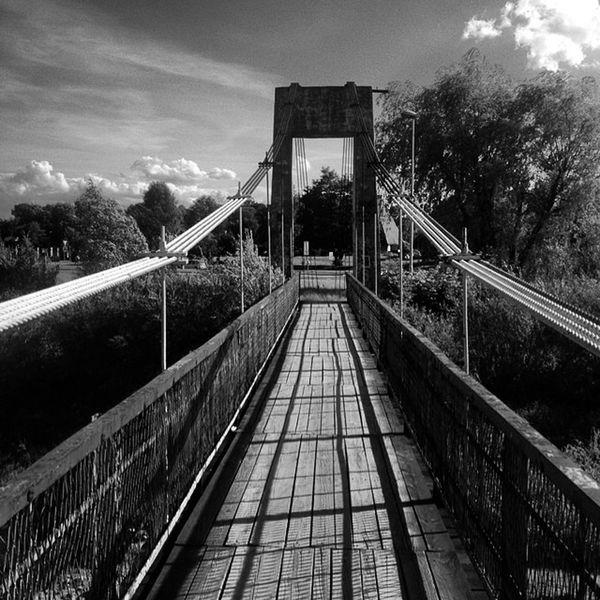 Bridge Most Kladka Mostwiszacy Nowysacz Kamienica