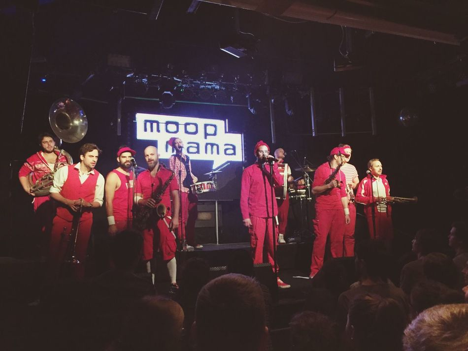 Moop Mama Music Great Performance Great Atmosphere Concert So Many People