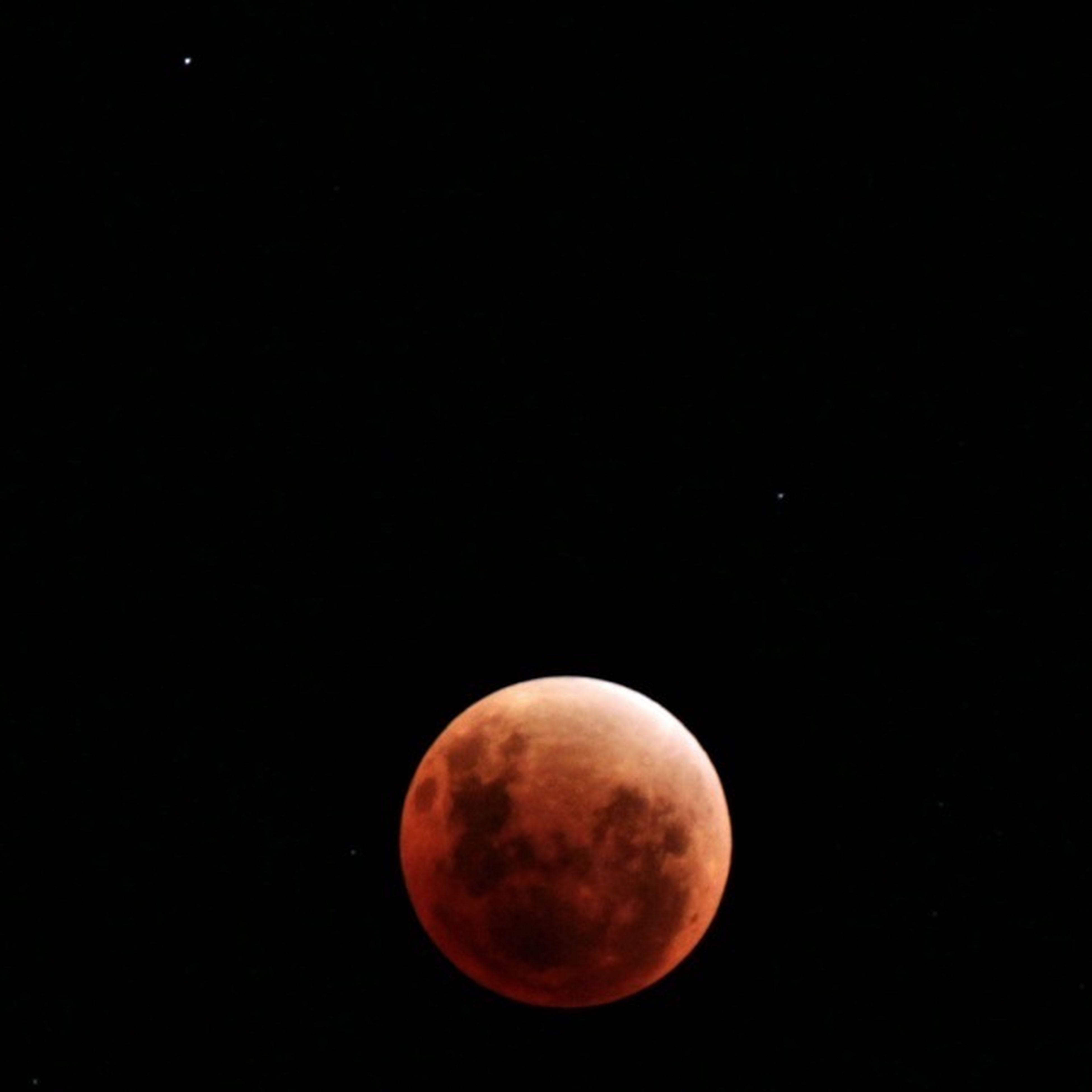 Lunar Eclipse Moon Stars Canon
