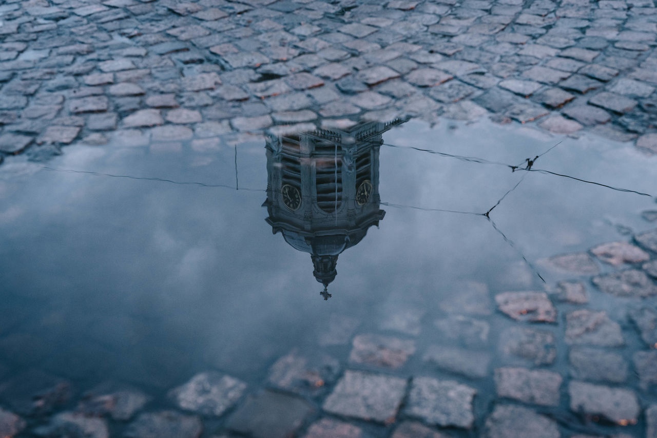 Reflection in a Puddle, Place Royale, Brussels Architecture Brussel Bruxelles Bruxelles-Capital Building Exterior City Place Royale Puddle Puddle Reflections Puddleography Rain Reflection Reflection Reflections In The Water Sky Water