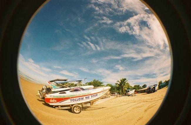 Fisheye Skyporn Feeling The Sun Enjoying Life thailand