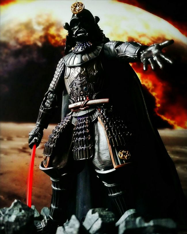 Eyeem your father. Sith Lord Star Wars Darth Vader Samurai Taisho Movie Realization Toys Toy Photography