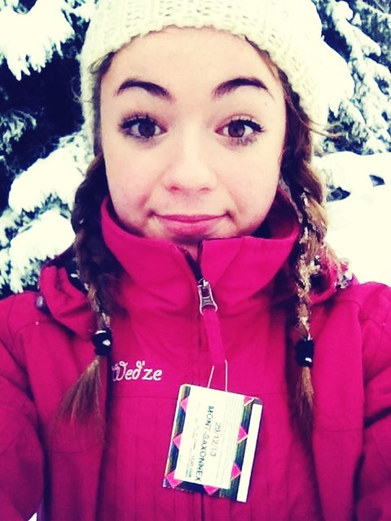Cc je suis au ski ✌