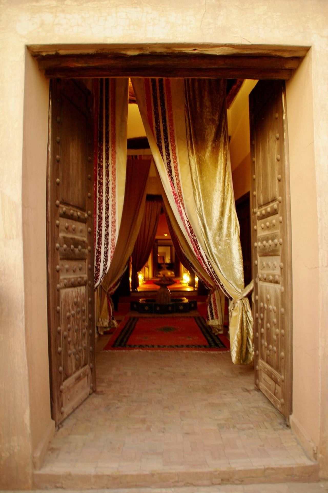 Open Door Door Architecture Built Structure Entrance Marrakech Marroco