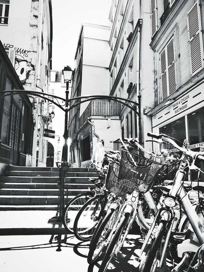 Streetphotography Bicycle Black And White Europe Street Photography