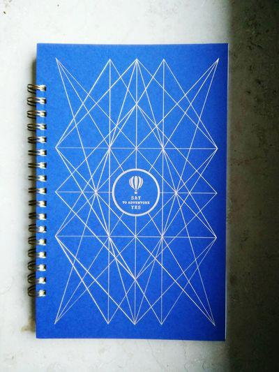 EyeEm Selects First Eyeem Photo Notebook Blue Adventure Graphic Design EyEmNewHere Striped