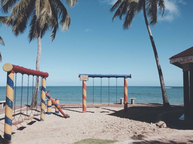 Sea Caribbean Beach Playground