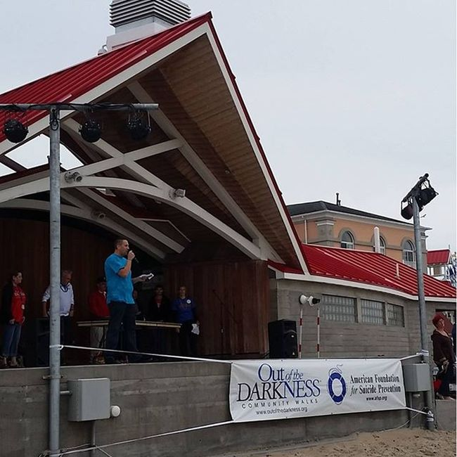 Out of the Darkness Community Walks | American Foundation for Suicide Prevention Suicidewalk2015 Suicideprevention Oceancitycool OceanCity maryland ocmd