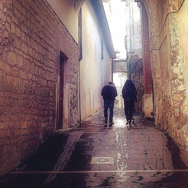 Street Streetphotography Palombara Sabina After The Rain