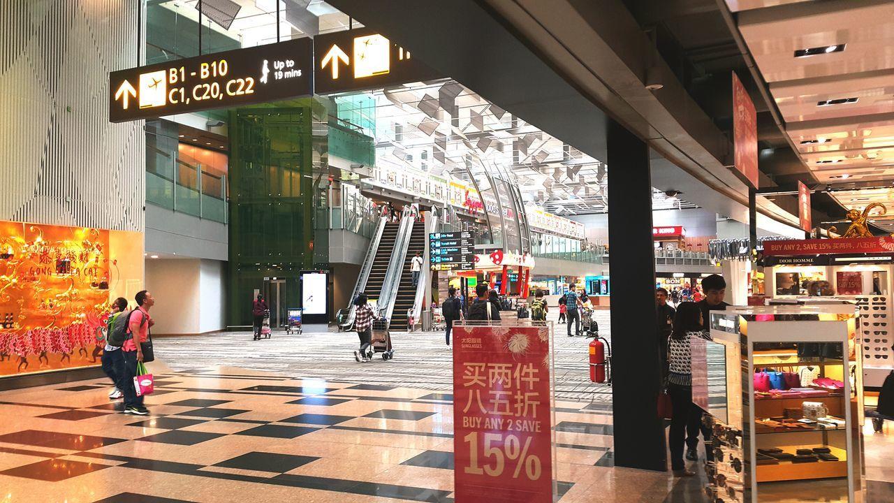 Changiairport First Eyeem Photo