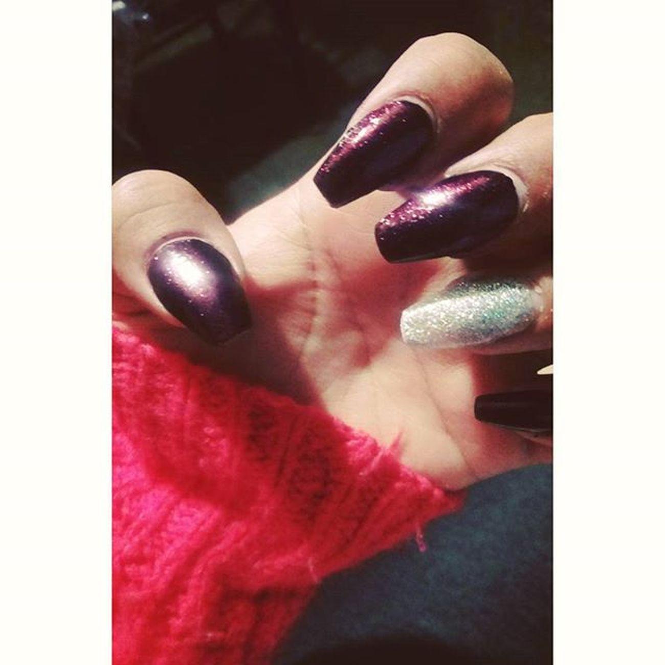 Moradas Glitter 💅