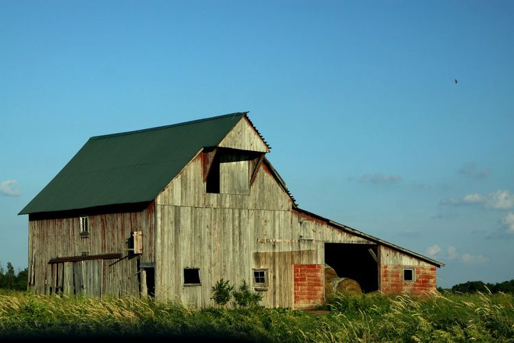 Barn Outdoors Weathered Wood Countrylife Rural America