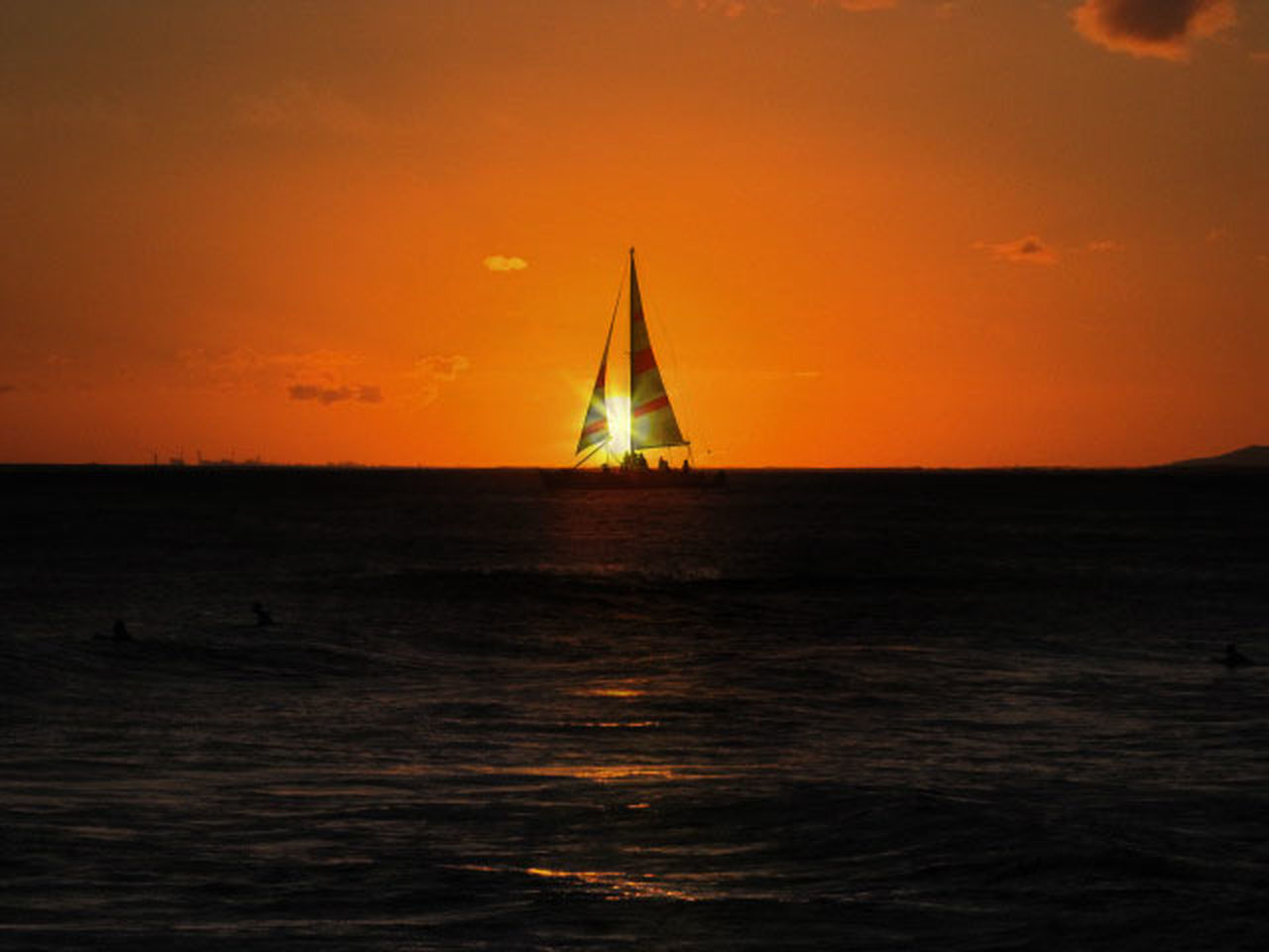 Ocean vibe Sunset Sailing Sea Sailboat Outdoors Sky EyeEm EyeEm Best Shots Nature Silhouette